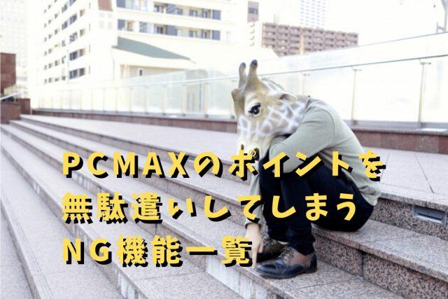 PCMAX ポイント
