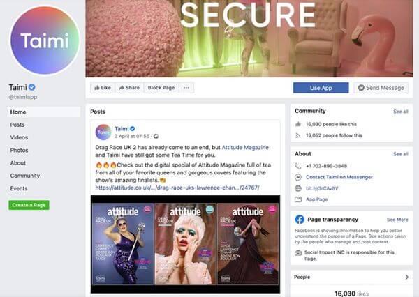 taimi-facebook