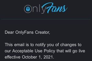 OnlyFans Changes Its Terms of Service; Is This The End for OnlyFans?